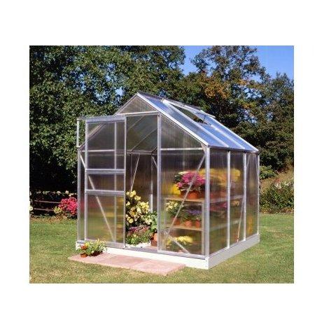Serre en polycarbonate POPULAR 86 - 5 m² + Base