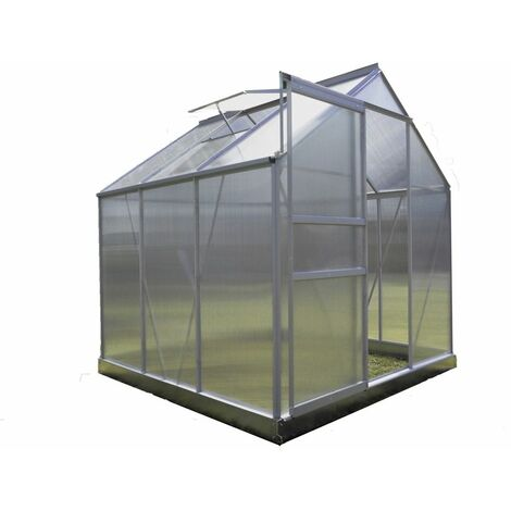 "main image of ""Serre Jardin Polycarbonate - DIAMANT 66 - 3,7M² - GRIS"""
