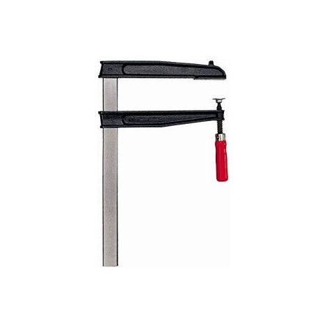 Serre-joint à grande portée TGNT, Capacité de serrage : 400 mm, Portée 200 mm, Glissière 35 x 1 mm