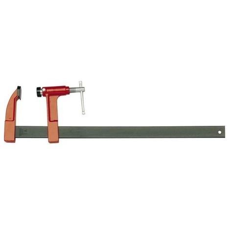 Serre joint a pompe la 8 serrage 300mm saillie 80 rail 30 x8