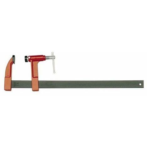 Serre joint a pompe la 8 serrage 400mm saillie 80 rail 30 x8