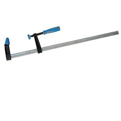Serre-joint à visser robuste L. 900 x 80 mm - 427676 - Silverline - -
