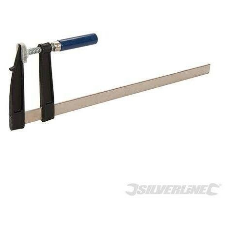 Serre-joint en F, 500 x 120 mm