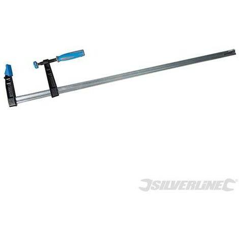 Serre-joint en F usage intensif (haute capacité), 1000 x 120 mm