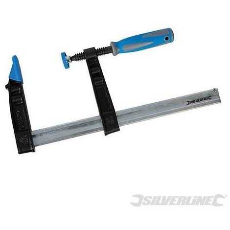 Serre-joint en F usage intensif (haute capacité), 300 x 120 mm