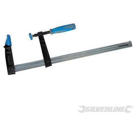 Serre-joint en F usage intensif (haute capacité), 500 x 120 mm
