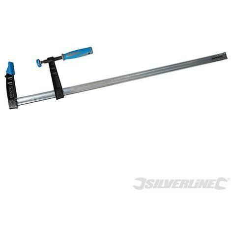 Serre-joint en F usage intensif (haute capacité), 800 x 120 mm