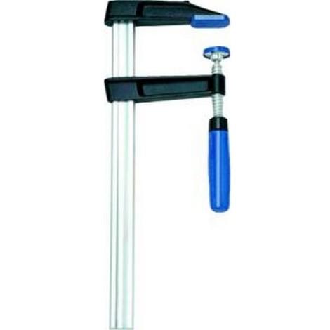 Serre-joint en fonte malléable, Capacité de serrage : 1500 mm, Portée 120 mm, Glissière 35 x 11 mm