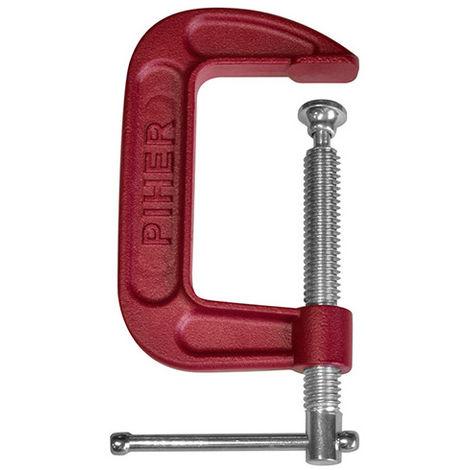 Serre-joint en G 6,5 x 15 x L. 32 cm - 900 kg de serrage