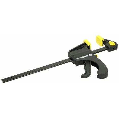 Serre-joint rapide à une main 250 mm avec manche en plastique