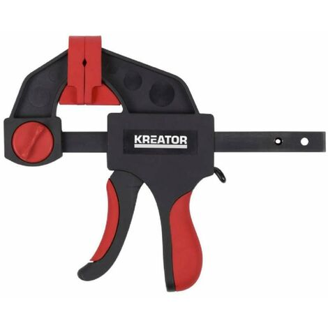 Serre joint une main Kreator 150 mm