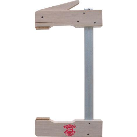 Serre-joints à blocage Klemmsia Envergure 1000 mm Col de cygne 110 mm