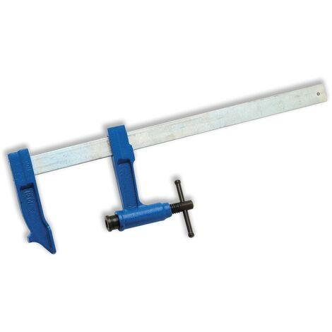 Serre-joints a pompe - saillie100 - section 30 x 8 - serrage 400 mm