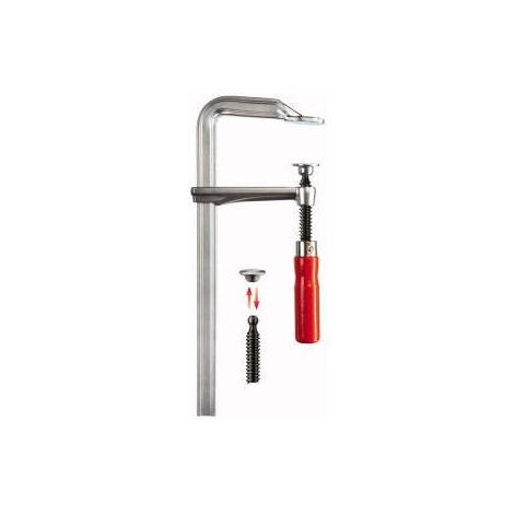 Serre-joints tout acier GZ, Capacité de serrage : 500 mm, Portée Bessey 120 mm, Rail de coulissement Bessey 28,0 x 11,0 mm