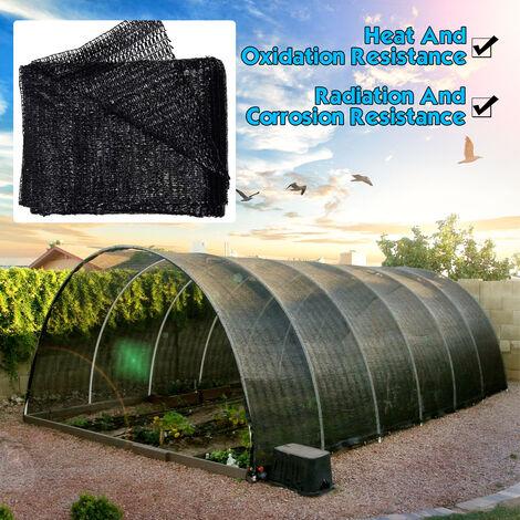 Serre résistante UV de filet de tissu de tissu d'ombre de protection solaire de 50%