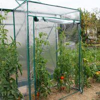 Serre souple à tomates PVC