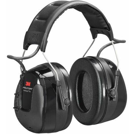 Casque radio FM 3M PELTOR WorkTunes Pro - Noir