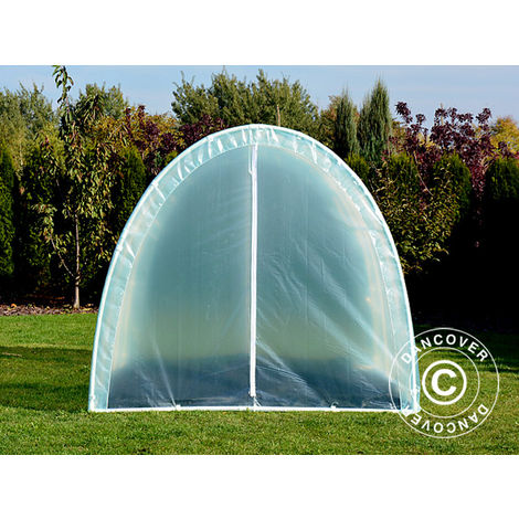 Serre Tunnel 120, 2,2x3x1,9m, 6,6m², Transparent