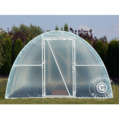 Serre Tunnel 140, 3x3,6x1,9m, 10,8m², Transparent