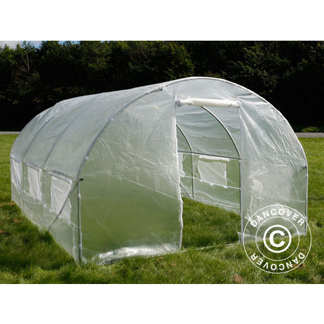 Serre Tunnel 3x4,5x2m, 13,5m², Transparent