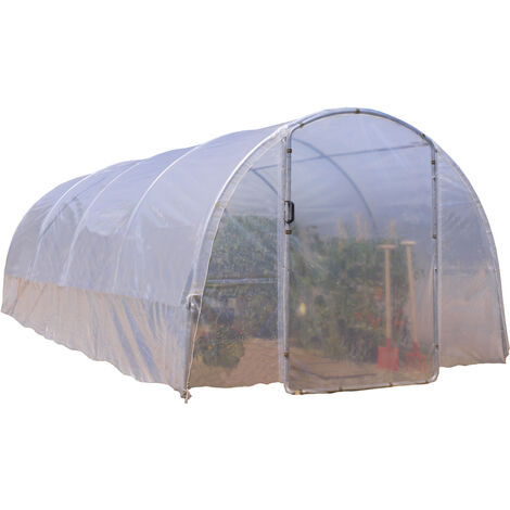 Serre tunnel ÉCO-18 largeur 3 m x 6 m