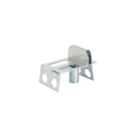 SERRUPRO - Sabot de portail à sceller avec glissière de réglage