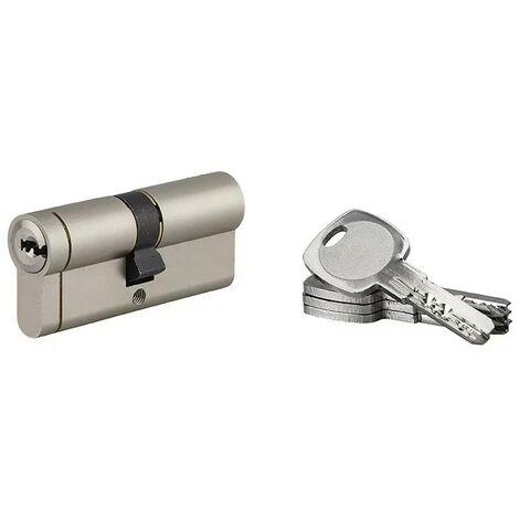 Serrupro - SERRUPRO - Cylindre de serrure à bouton haute sécurité - 35 x 35 mm