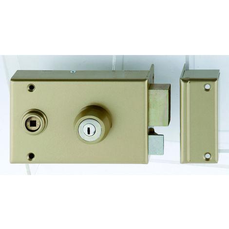 Serrure 1 Point KESO 4000S Omega horizontal fouillot Cylindre de 45 droite - JPM-HERACLES - 120400-39-1AFB