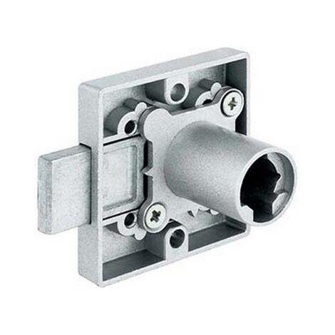 Serrure 1 point OJMAR axe 25mm boitier 42x38 droite uno avec rosace sans cylindre - 785716.222NI