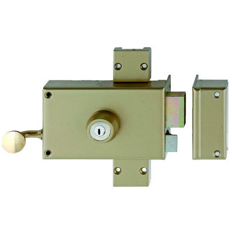 Serrure 3 points KESO 4000S OMEGA horizontal tirage cylindre de 45mm droite - JPM - 503000-82-1AFB