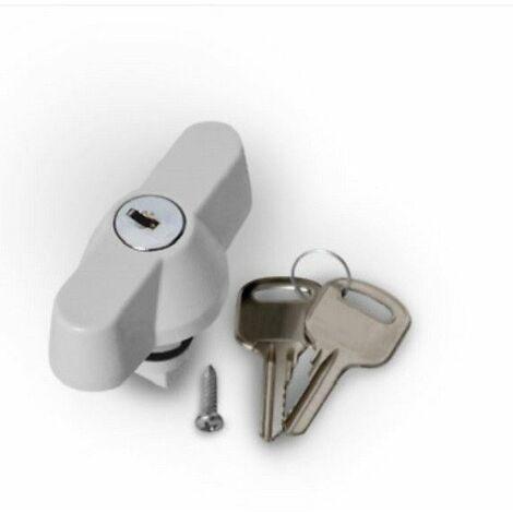 Serrure à clé pour coffret électrique étanche IP65