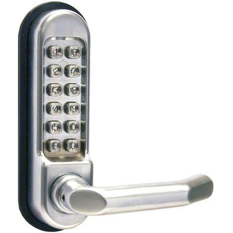 Serrure a combinaison mecanique Verrou porte entree avec code securite THIRARD