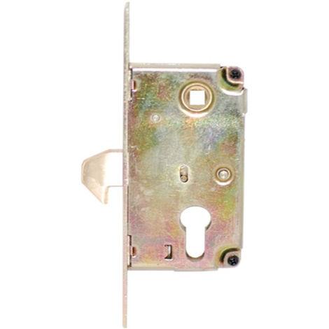 Serrure à crochet à encastrer Blindomax Axe 60 mm pour portail coulissant - 110501