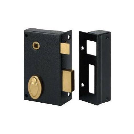 Serrure applique verticale sûreté 4 gorges 804 Métalux - plusieurs modèles disponibles