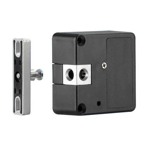 Serrure connectée Bluetooth LKR MERONI pour casier - EF58HLSC