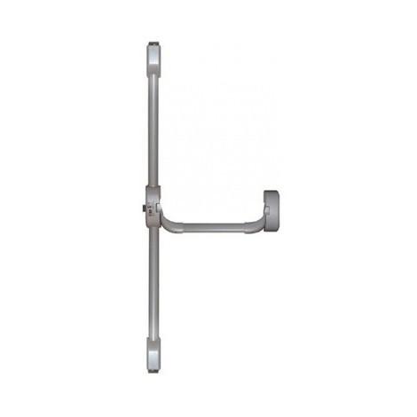 Serrure coupe-feu Idea ISEO 3 points latéraux - Gris - 9416113334A