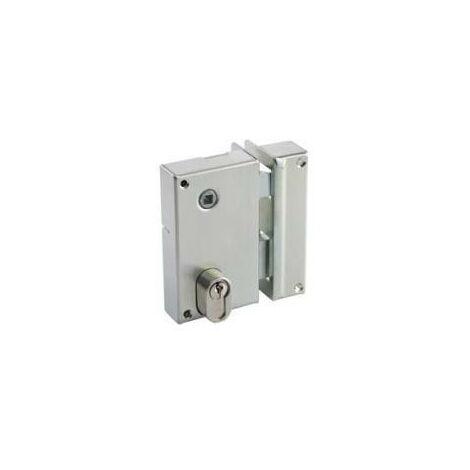 Serrure de grille vertical pour cylindre européen Vachette 7217 - plusieurs modèles disponibles