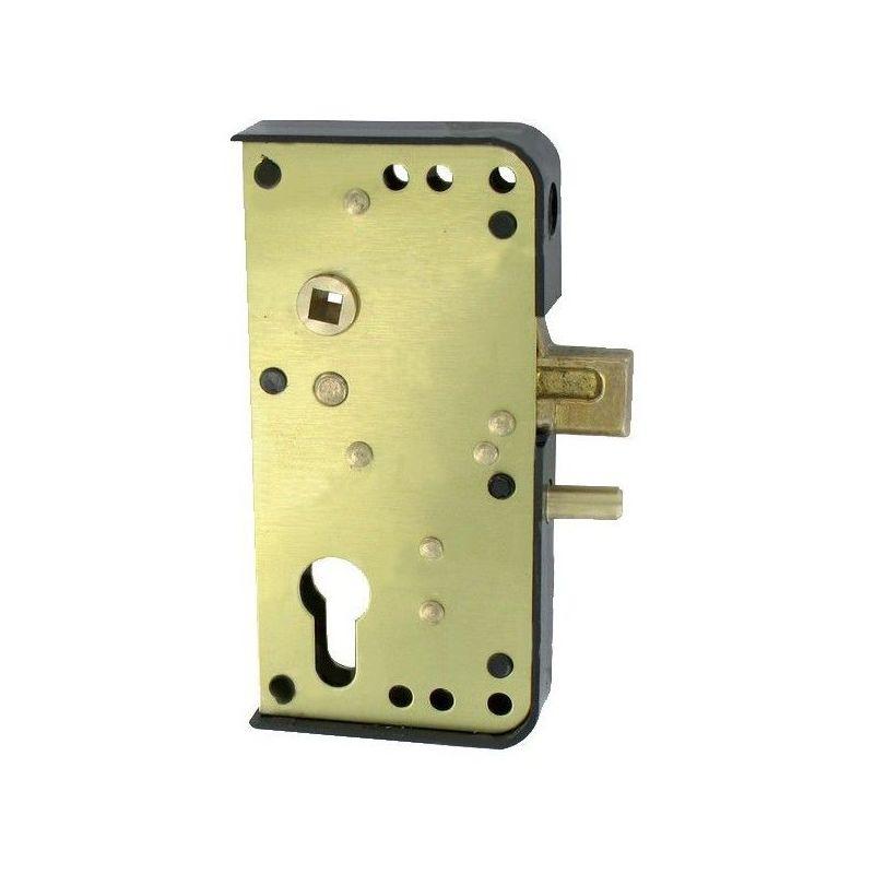 Serrure de portail en applique Série GA40mm - Multicouleur