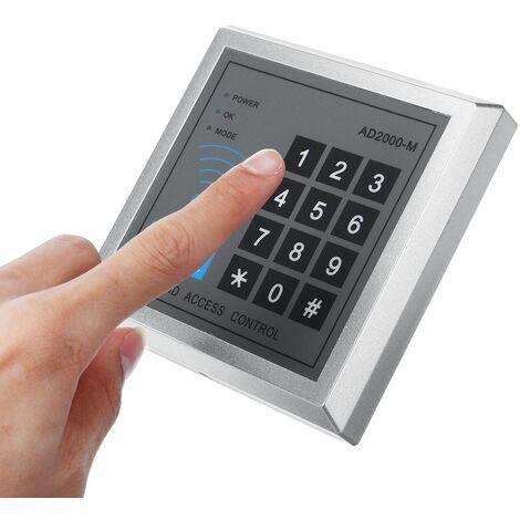 Serrure De Porte Intelligente De Contr?le d'Acc¨¨s RFID Avec 10 Porte-cl¨¦s ED