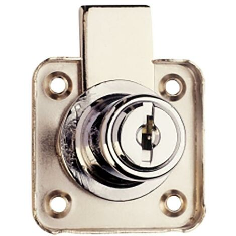 Serrure de tiroir à clés égales A912 Chrome C1610Coma02 Aga