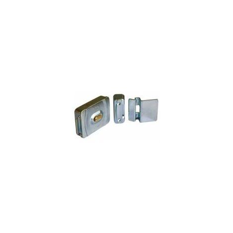 Serrure électrique, extérieur, en montage vertical ou horizontal 12Vac. - CARDIN - - ELV.