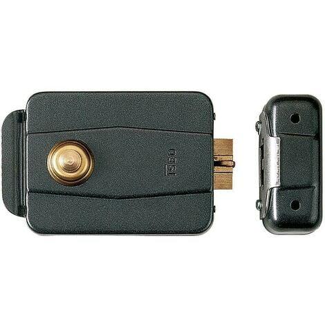 Serrure électrique Iseo 510-60 mm avec bouton poussoir