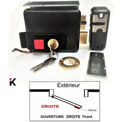 Serrure Electrique KLOSE BESSER a Bouton Poussoir
