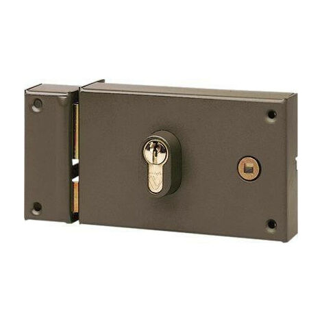 Serrure en applique horizontale à cylindre à fouillot Vachette 7416 - plusieurs modèles disponibles