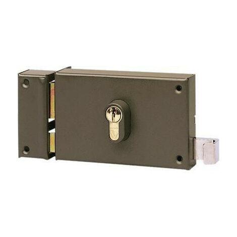 Serrure en applique horizontale à cylindre à tirage Vachette 7415 - plusieurs modèles disponibles
