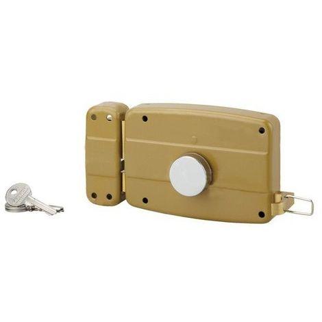 Serrure en applique pour porte de garage thirard gauche tirage af033634 938 2368 - Serrure porte de garage ...