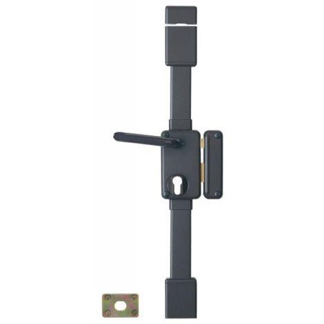 Serrure en applique verticale 3 points à fouillot 7 mm - A cylindre européen - BELUGA main droite