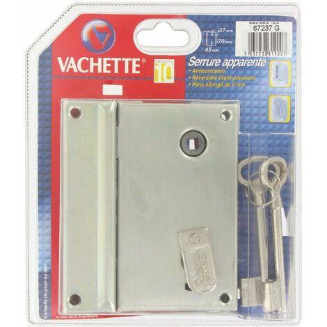 Serrure grille verticale 67237 Vachette - plusieurs modèles disponibles