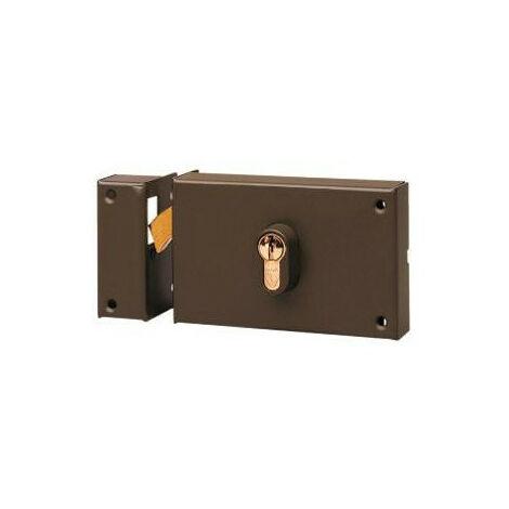 Serrure horizontale à crochet pour cyl Vachette 7411 - plusieurs modèles disponibles