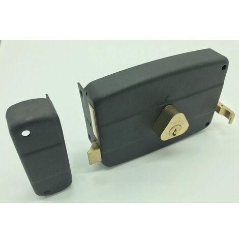 serrure monopoint horizontal tirage à 5 clés - Multicouleur